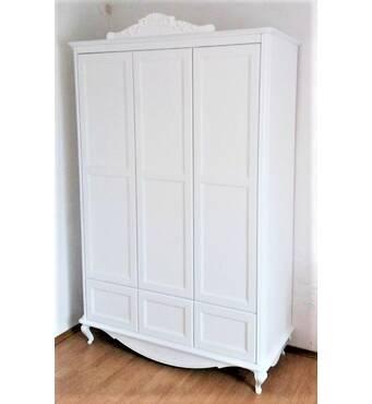 Гардеробна шафа Ельза з шухлядами в дитячу, підліткову кімнату
