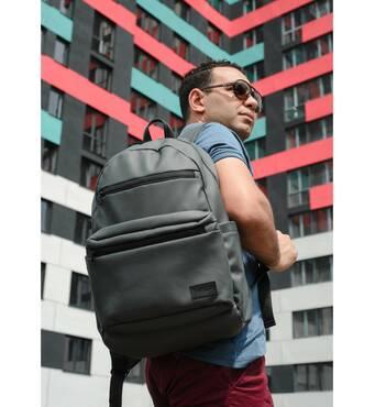 Чоловічий рюкзак Sambag Zard LKT графітовий