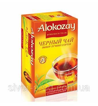 "Чай ""Alokozay Tee"" 25п*2г Чорний з Лимоном КОНВЕРТ (1/12)"
