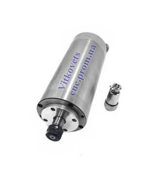Шпиндель для ЧПУ 1.5 kw  ER11 80мм водяне охолодження