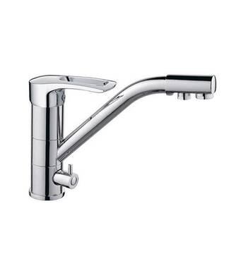 Смеситель для кухни Haiba Hansberg 021 с подключением питьевой воды купить в Днепре