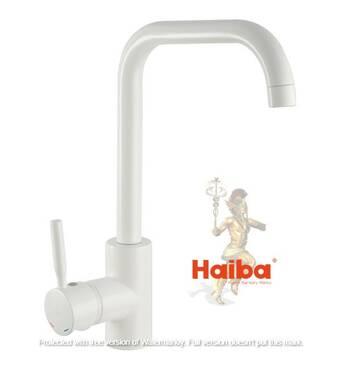 Змішувач для кухні Haiba Hans 011-G white купити недорого