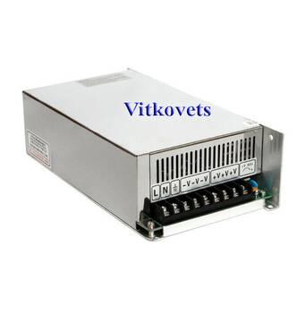Імпульсний блок живлення S - 500-48, 48v, 10.4a, 500w