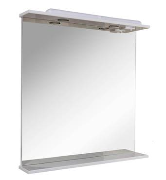 Зеркало Ассоль 80 см с подсветкой Аквародос