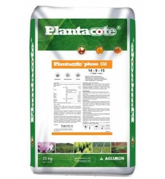 Добриво Plantacote® Pluss 6м 14-9-15+2MgO+micro 25кг