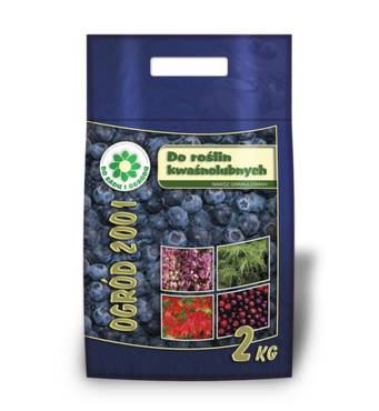 Добриво для лохини, кислолюбних рослин Ogrod 2001 (2 кг)