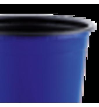 Горшок TEKU 0,29л 9x6,8см синий