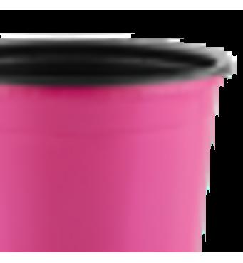 Горшок TEKU 0,29л 9x6,8см розовый