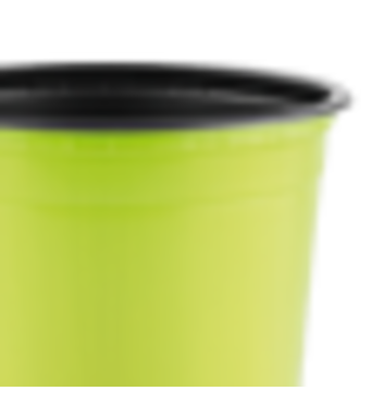 Горшок TEKU 0,46л 10,5x8,2см салатовый