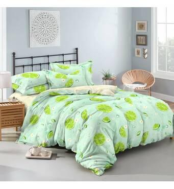 Двоспальна красива постільна білизна з сатинаTM KRISPOL