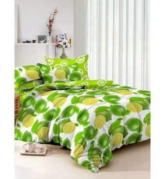 Двухспальное красивое постельное белье из сатинаTM KRISPOL