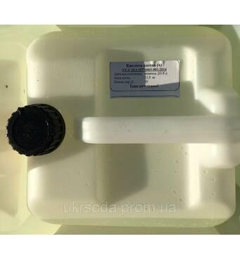 Азотна кислота 10 літрів каністра 13.5 кг