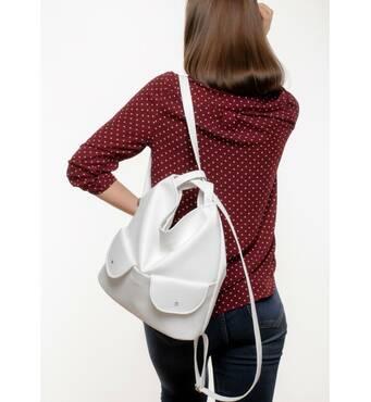 Жіночий рюкзак Sambag Asti XKH білий