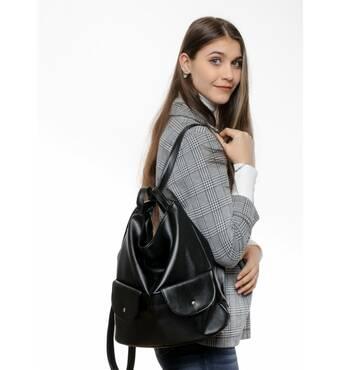 Жіночий рюкзак Sambag Asti XKH black