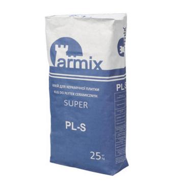 Клей для плитки еластичний Армікс РL-S, мішок 25кг