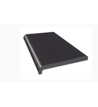 Подоконник ПВХ  WDS   600х1000 ламинация  антрацит