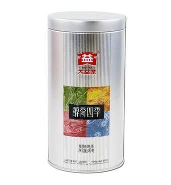 Чай Шу Пуэр Мэнхай Та і | аромат природи, що П'янить, 1901 2019 року | 80 г