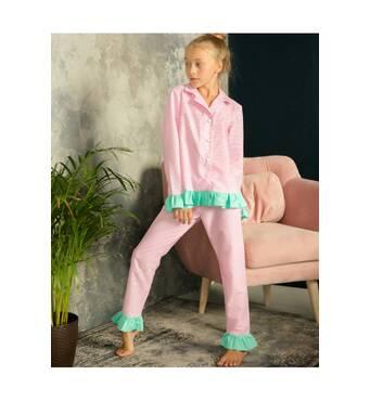 Пижама для девочки «полоска»