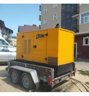 Генератор дизельний потужністю 70 кВт SDMO.Оренда генератора Київ від 1000 грн/доба