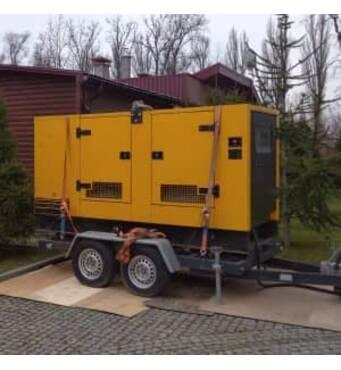Генератор дизельний потужністю 100 кВт SDMO.Оренда генератора Київ від 1350 грн/доба