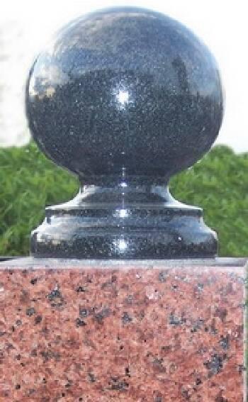 Виготовлення куль з граніту