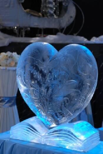 Изготовление ледяных скульптур (Киев и вся Украина)