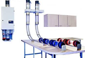 Инсталляция систем пневмопочты