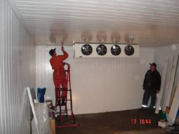 Реконструкція холодильних камер
