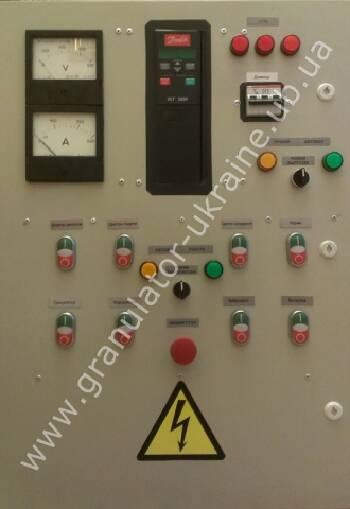 Пропонуємо послуги з розробки шаф управління лініями гранулювання ОГМ -1,5 -0,8, лініями сушки АВМ -0,65 -1,5