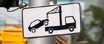 Буксирування автомобіля за допомогою евакуатора