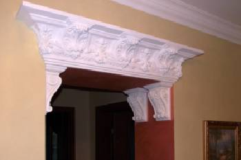 Gypsum moulding ,Assembling of any complexity.
