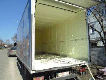 Термоизоляция пенополиуретаном автотранспорта