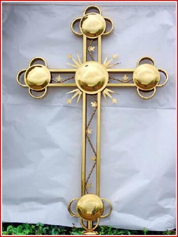 Накупольные кресты изготовление.