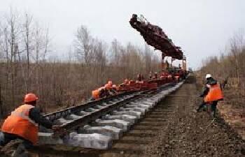 Строительство железных дорог Украина