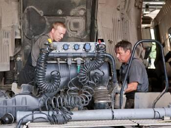 Ремонт двигуна вантажних авто, Київ