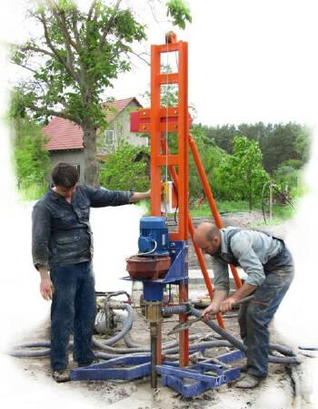 Буріння свердловин на воду в Україні