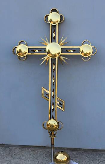 Проектирование и изготовление накупольных крестов в Украине