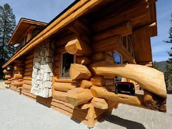Строительство деревянных домов из дикого сруба по Украине