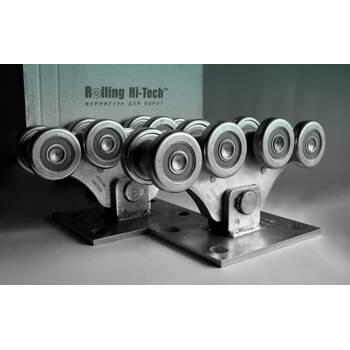 Фурнитура для откатных ворот: Усиленный комплект до 800кг(металлические ролики)