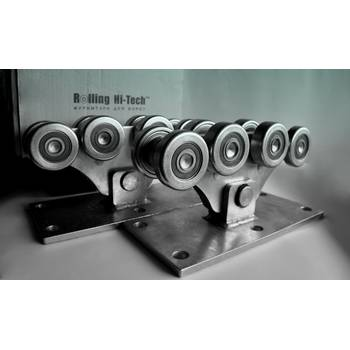 Фурнитура для откатных ворот: Усиленный комплект до 1000кг(металлические ролики)