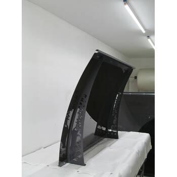 Металлический сборный козырек Dash'Ok Фауна 2,05 м*1 м с монолитным поликарбонатом 3 мм купить в Черновцах