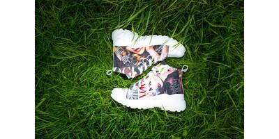 Кеды молодежные Vogue, ткань + кожа, 38, 100-19.12
