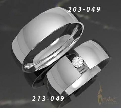 Кольца обручальные с бриллиантом. Белое золото - Photo Gallery ... 1023a6f67011f