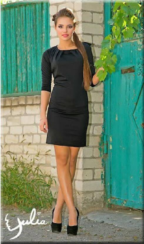 b8f4206e1d1d01 Осеннее платье черное - спинка из гипюра Золотой песок - Фотогалерея ...