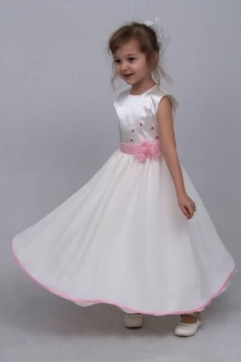 Атласні нарядні плаття для дівчаток   Атласные нарядные платья для девочек 697fa804c08a9