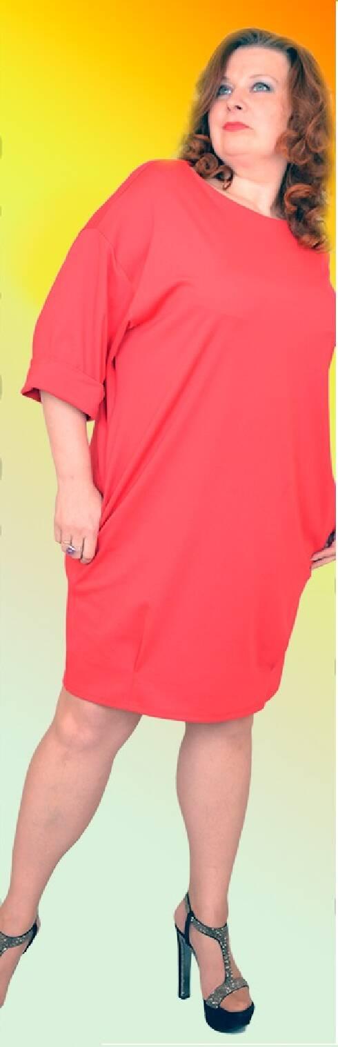 Женское платье свободного кроя купить - Фотогалерея стильной одежды ... 70bad664975e5