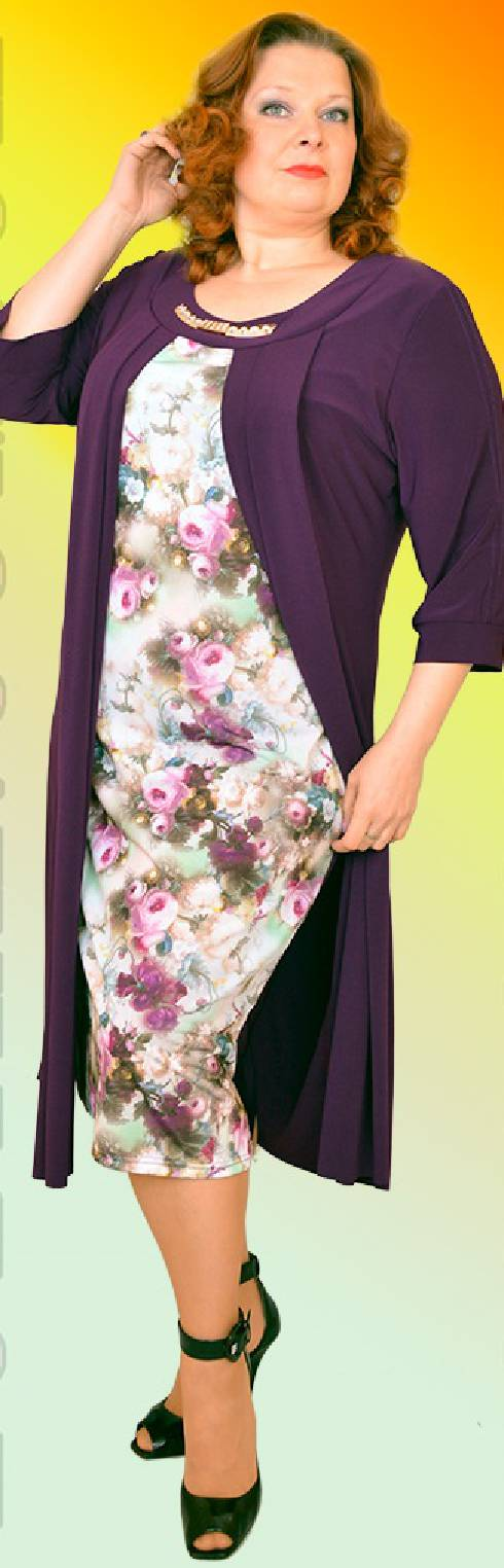 1a13da5bc3d69e Жіночі святкові плаття для повної жінки - Фотогалерея стильного ...