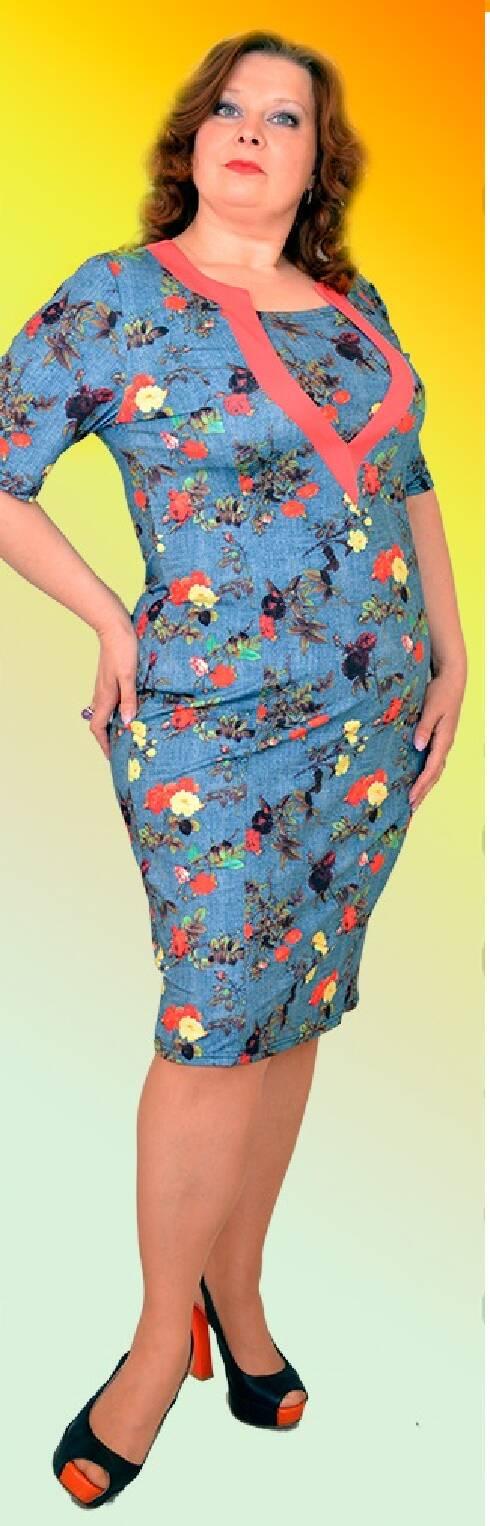 6dfe0e1bdd875 Модные платья больших размеров Хмельницкий - Фотогалерея стильной ...