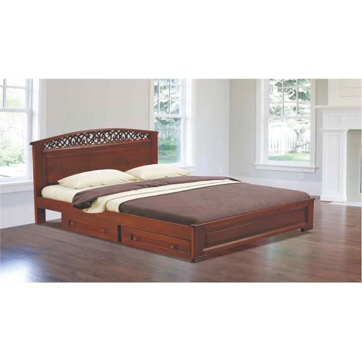 """Дерев'яне ліжко від виробника """"Меблі Закарпаття"""" - ваша знахідка!"""