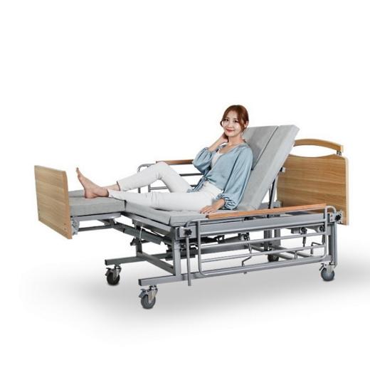 Медицинская кровать с туалетом Е08. Функциональная кровать. Кровать для людей с инвалидностью. Современный дизайн.